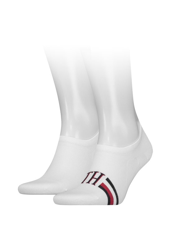Tommy Hilfiger - Footie-sukat 2-pack - 300WHITE | Stockmann - photo 1