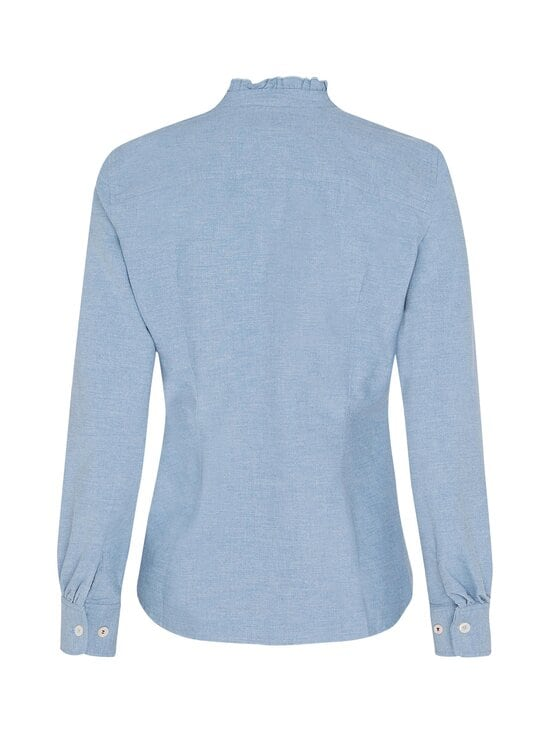 Tommy Hilfiger - Ruffled Collar Regular Fit -paitapusero - DY5 DAYBREAK BLUE | Stockmann - photo 2