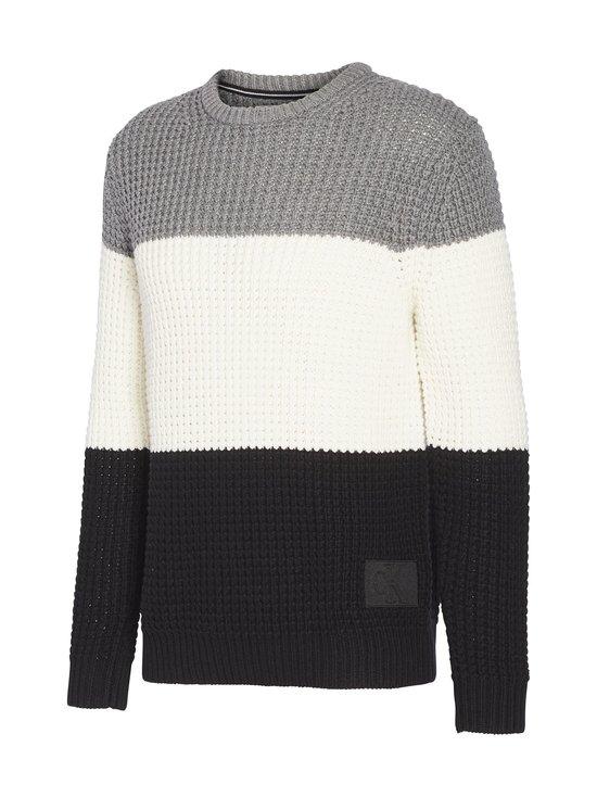 Calvin Klein Jeans - Textured Striped -neule - BAE CK BLACK | Stockmann - photo 3