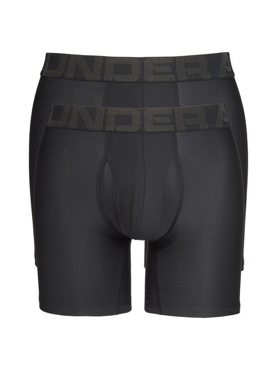 Under Armour - Boxerjock-bokserit 2-pack - BLACK | Stockmann - photo 1