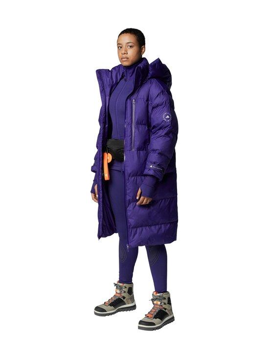 adidas by Stella McCartney - TruePace Midlayer Jacket COLD.RY -treenitakki - COLLEGIATE PURPLE / BLACK | Stockmann - photo 7