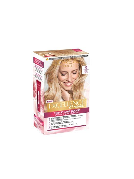 L'Oréal Paris - Excellence Creme Triple Care Color 9 -hiusväri - 9 VERY LIGHT BLONDE   Stockmann - photo 1