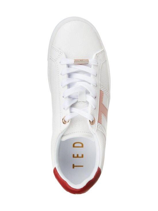 Ted Baker London - Ottoli Perforated T Detail -nahkasneakerit - 99 WHITE | Stockmann - photo 2