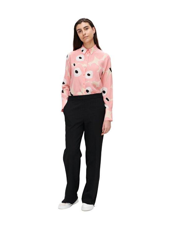 Marimekko - Hakku Long Solid -housut - 009 BLACK | Stockmann - photo 1