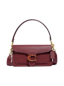 Coach - Tabby Shoulder Bag 26 -nahkalaukku - B4/WN B4/WINE | Stockmann