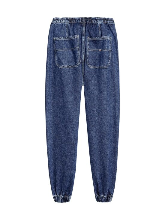 Tommy Jeans - Elasticated Denim Pants -housut - 1A4 PLAID MIX MID BLUE RIGID | Stockmann - photo 2