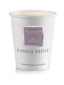 Max Benjamin - True Lavender -tuoksukynttilän täyttöpakkaus 190 g - LAVENDER | Stockmann
