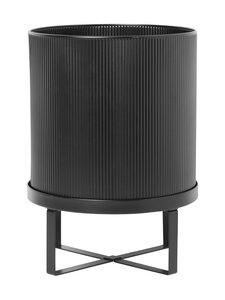 Ferm Living - Bau Pot Large -ruukku Ø 28 cm - BLACK | Stockmann