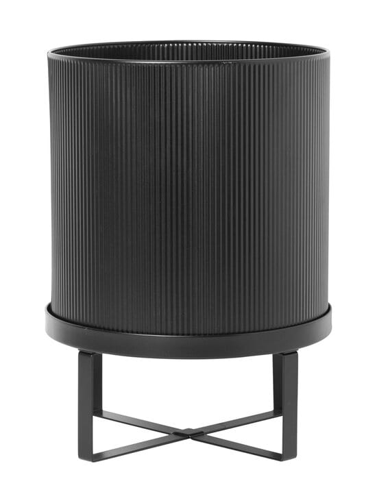 Ferm Living - Bau Pot Large -ruukku Ø 28 cm - BLACK | Stockmann - photo 1