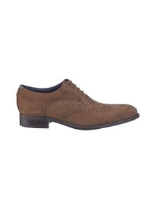 Ted Baker London - Pellan Nubuck Brogue Shoe -nahkakengät - 28 TAUPE | Stockmann
