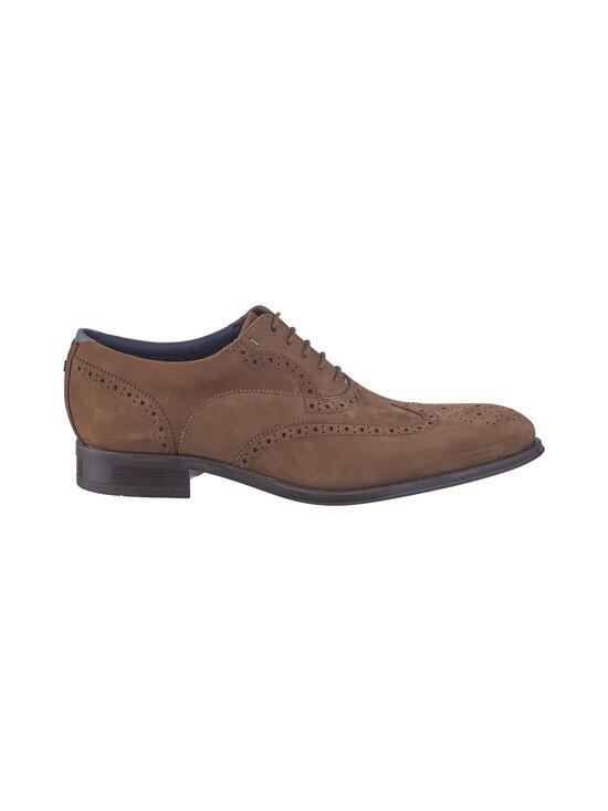 Ted Baker London - Pellan Nubuck Brogue Shoe -nahkakengät - 28 TAUPE | Stockmann - photo 1