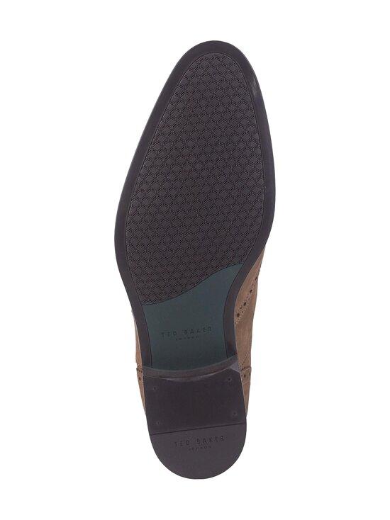 Ted Baker London - Pellan Nubuck Brogue Shoe -nahkakengät - 28 TAUPE | Stockmann - photo 3