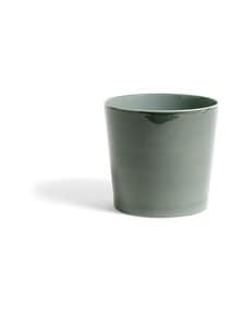 HAY - Botanical Family Pot XL -kukkaruukku Ø 22 cm - DUSTY GREEN | Stockmann