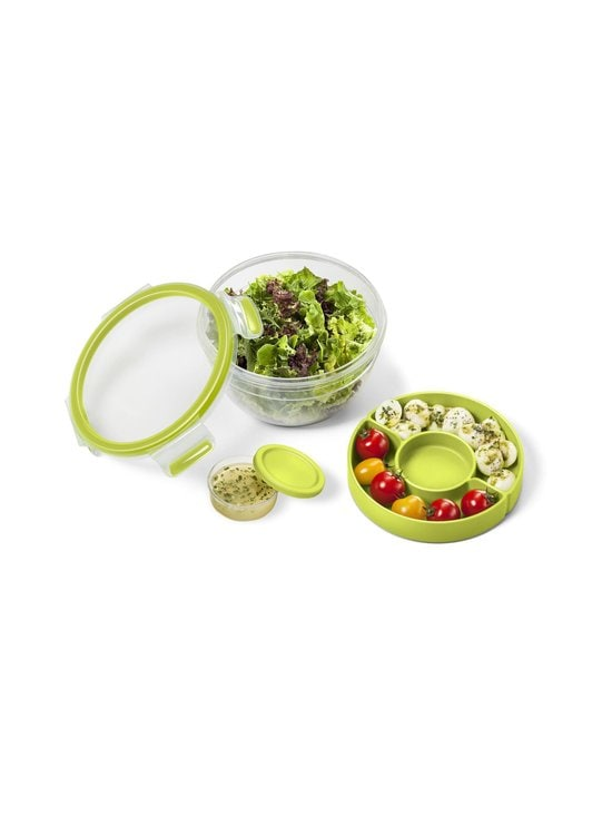 Tefal - MasterSeal TO GO Salad Bowl -salaattirasia 1 l - LIME | Stockmann - photo 2