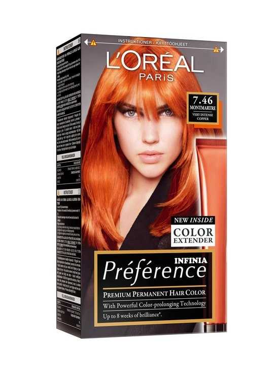 L'Oréal Paris - Préférence 7.46 Ibiza Very Intense Copper -hiusväri - null | Stockmann - photo 1