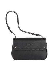 Karl Lagerfeld - K/Ikon Shoulder Bag -nahkalaukku - BLACK A999   Stockmann