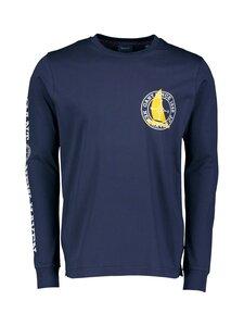 GANT - D1. Nautical Long Sleeve -paita - 433 EVENING BLUE   Stockmann