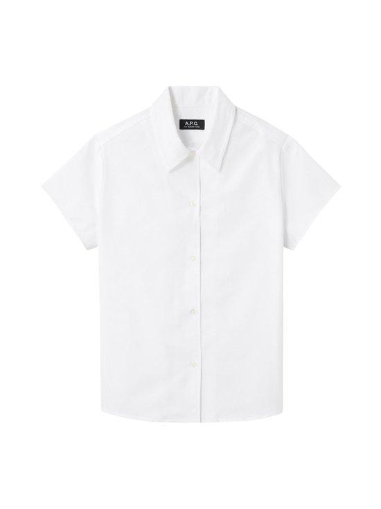 A.P.C - Marina Short-Sleeve Shirt -paitapusero - BLANC   Stockmann - photo 1