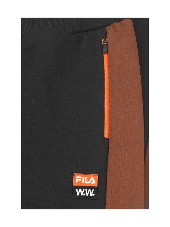 Fila - Pete-verryttelyhousut - B028 BLACK BEAUTY-POTTING SOIL-PAPRIKA | Stockmann - photo 3