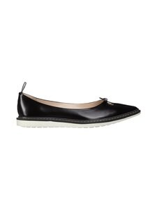 Marc Jacobs - The Mouse Shoe Ballerina -nahkakengät - 001 BLACK | Stockmann