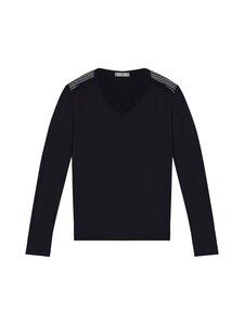 Tommy Hilfiger - Mesh Detail Long Sleeve T-Shirt -pyjamapaita - DW5 DESERT SKY   Stockmann
