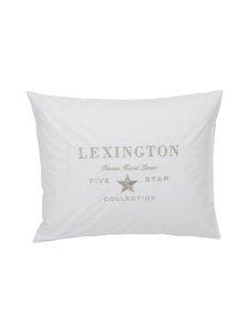 Lexington - Hotel Embroidery -tyynyliina 50 x 60 cm - WHITE | Stockmann