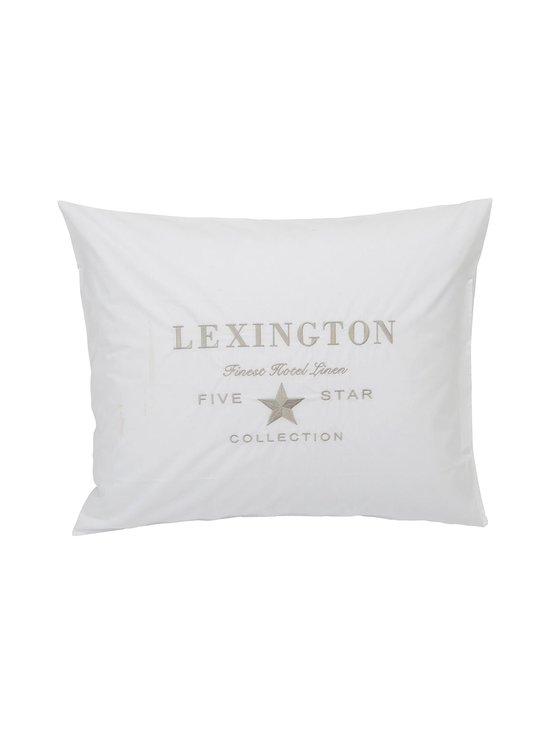 Lexington - Hotel Embroidery -tyynyliina 50 x 60 cm - WHITE   Stockmann - photo 1