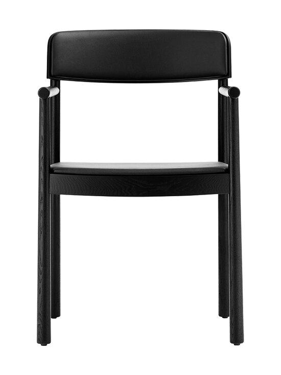 Normann Copenhagen - Timb Armchair -tuoli, nahkaverhoilu - BLACK/ ULTRA LEATHER - BLACK | Stockmann - photo 2