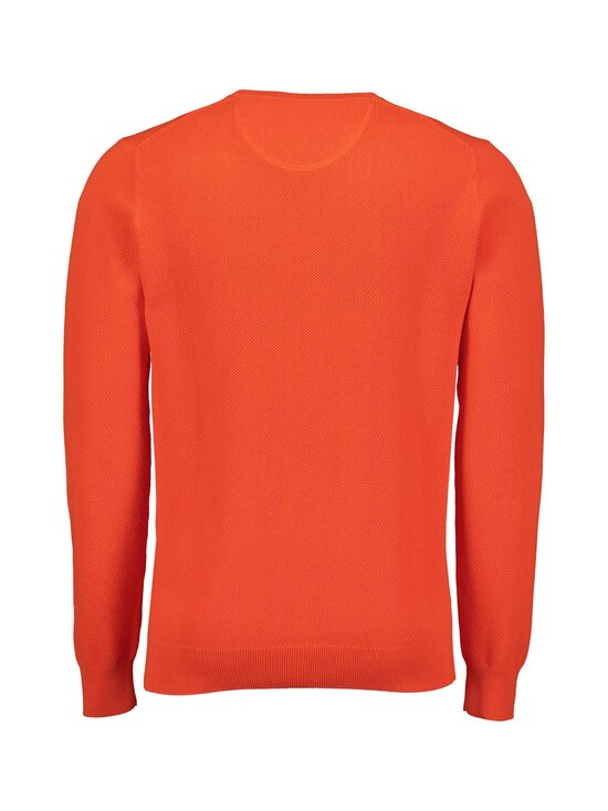 GANT - Cotton Pique C-Neck -puuvillaneule - 667 LAVA RED | Stockmann - photo 2