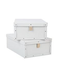 Bigso Box - Viktor-laatikko 2 kpl - VAALEANHARMAA | Stockmann
