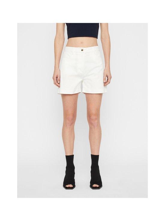 J.Lindeberg - Brianna-Cotton Twill Shorts -shortsit - 0000 WHITE | Stockmann - photo 3