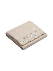 Alpaka - Classic Fishbone -huopa 150 x 200 cm - CAMEL / WHITE | Stockmann