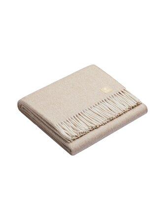 Classic Fishbone blanket 150 x 200 cm - Alpaka