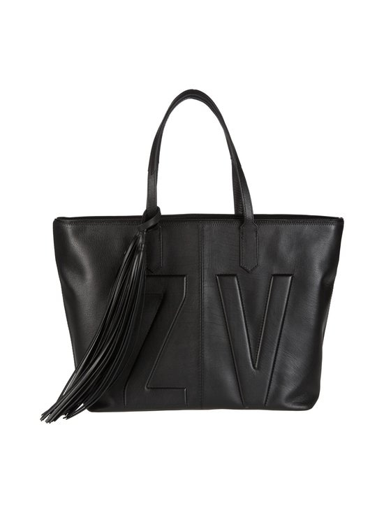 Zadig&Voltaire - Mick Initials -nahkalaukku - NOIR BLACK | Stockmann - photo 1