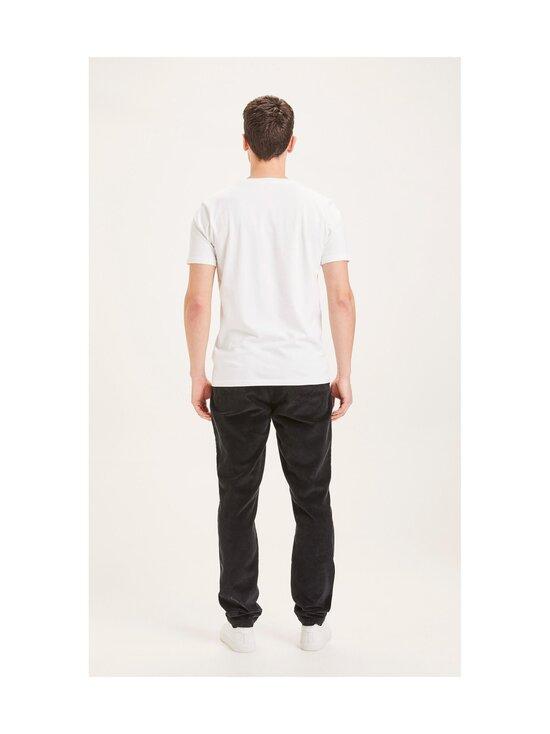 Knowledge Cotton Apparel - CHUCK-housut - 1300 BLACK JET | Stockmann - photo 2