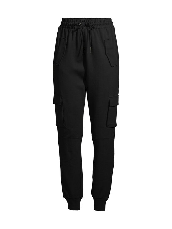 Noisy may - NmPalma High Waist Pants -housut - BLACK | Stockmann - photo 1