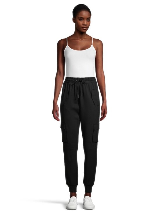 Noisy may - NmPalma High Waist Pants -housut - BLACK | Stockmann - photo 2