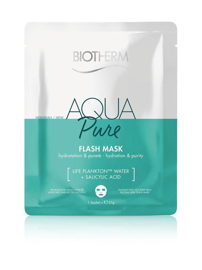 Aqua Flash Mask -kangasnaamio