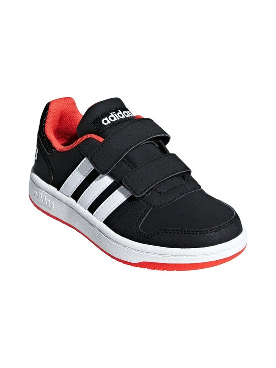 adidas Performance - Hoops 2.0 -kengät - CORE BLACK / CLOUD WHITE / HI-RES RED | Stockmann - photo 6