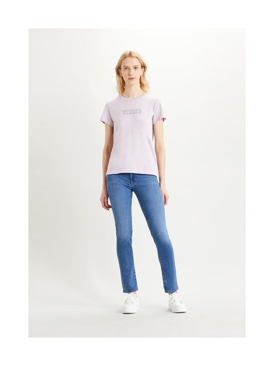 Levi's - The Perfect Tee -paita - TONAL BOX TAB LAVENDER FROST | Stockmann - photo 2