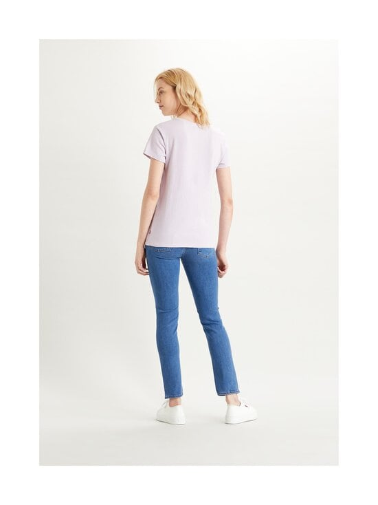 Levi's - The Perfect Tee -paita - TONAL BOX TAB LAVENDER FROST | Stockmann - photo 3