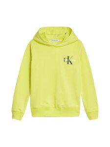Calvin Klein Kids - Small Monogram -huppari - ZJB YELLOW LIME | Stockmann