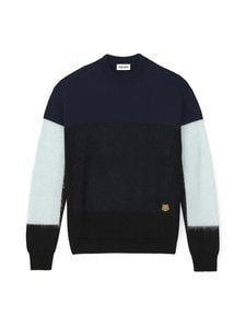 Kenzo - Mohair Colourblock Jumper -neule - 63 LIGHT BLUE | Stockmann