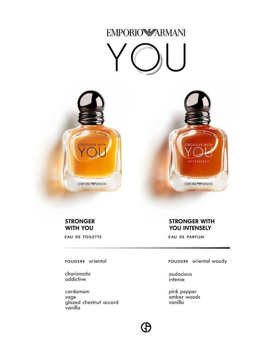 Armani - Stronger With You Intensely He EdP -tuoksu 30 ml - NOCOL   Stockmann - photo 6
