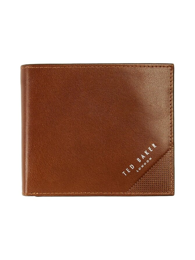 Prug Leather Bifold Wallet With Coin Pocket -nahkalompakko