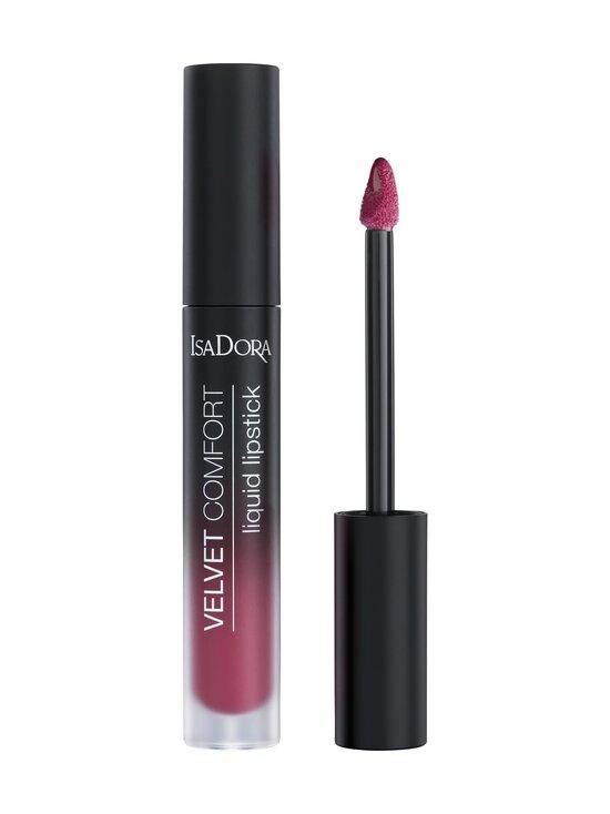 Isadora - Velvet Comfort Liquid Lipstick -huulipuna 4 ml - 74 THINK PINK   Stockmann - photo 1