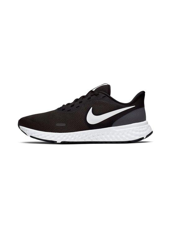 Nike - Revolution 5 -juoksukengät - 002 BLACK/WHITE-ANTHRACITE   Stockmann - photo 4