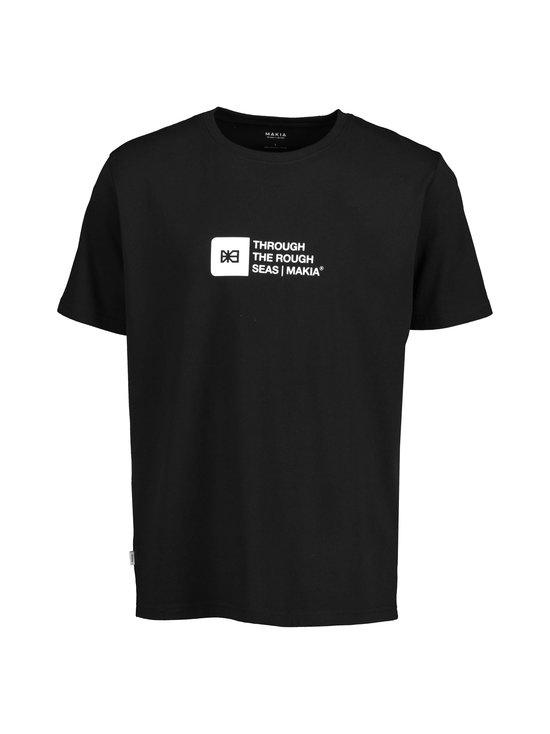 Makia - Flint T-Shirt -paita - 999 BLACK | Stockmann - photo 1