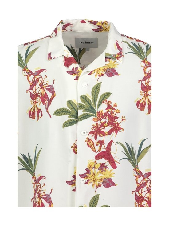 Carhartt WIP - Hawaiian Floral Shirt -kauluspaita - HAWAIIAN FLORAL PRINT, WHITE | Stockmann - photo 3