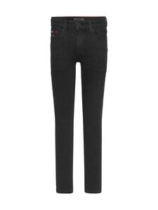 Tommy Hilfiger - Simon Super Skinny Water Repellent Jeans -farkut - 1BY WATERREPELLENTBLACKSTR | Stockmann